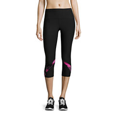 Xersion Printed Mesh Capri