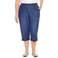 Plus Size Capris & Crops for Women - JCPenney