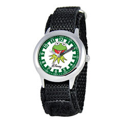 Disney Kids Time Teacher Kermit the Frog Watch