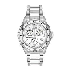 Citizen® Womens White Ceramic Diamond-Accent Watch FB1230-50A