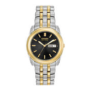 Citizen® Eco-Drive® Mens Two-Tone Stainless Steel Watch BM8224-51E