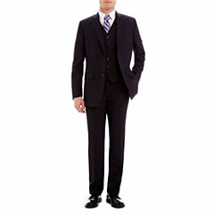 Stafford® Executive Super 130 Navy Pinstripe Suit Separates - Classic