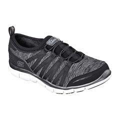 Skechers® Shake Bungee Slip-On Womens Sneakers