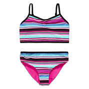 Free Country® Reversible 2-pc. Swimsuit - Girls 7-16