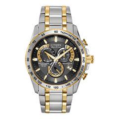 Citizen® Eco-Drive® Mens Perpetual Calendar Watch AT4004-52E