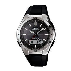 Casio® Wave Ceptor Atomic Mens Digital/Analog Watch WVAM640-1A