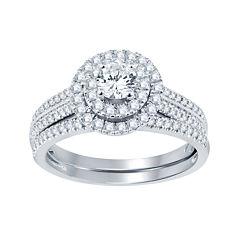 1 CT. T.W. Diamond Bridal Set