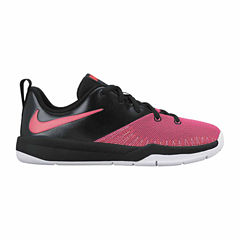 Nike Team Hustle D 7 Low Girls Basketball Shoes - Big Kids