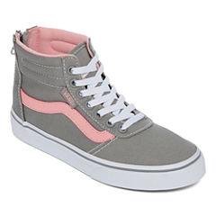 Vans Maddie Hi Zip Girls Skate Shoes - Big Kids