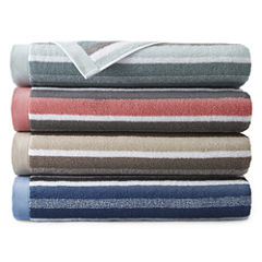 JCPenney Home™ Generous Stripe Bath Towel