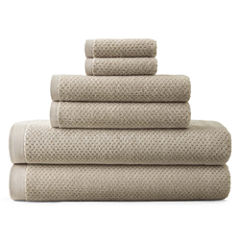 JCPenney Home™ Generous Solid 6-pc. Bath Towel Set