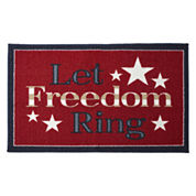 JCPenney Home™ Let Freedom Ring Rectangular Rug