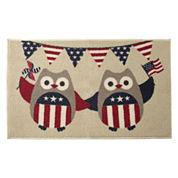 JCPenney Home™ Indepedence Owl Rectangular Rug