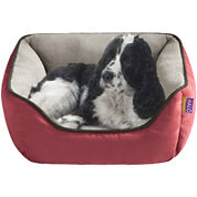 Halo Sparky Reversible Rectangular Cuddler Pet Bed