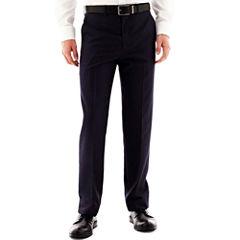 Men's JF J. Ferrar® End on End Flat-Front Straight-Leg Slim Fit Suit Pants