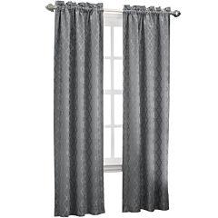 Sun Zero™ Dion Rod-Pocket Thermal Room-Darkening Curtain Panel