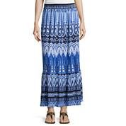 St. John's Bay® Knit Maxi Skirt