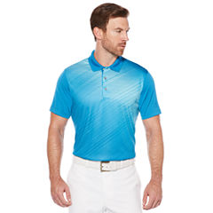 PGA TOUR Pro Series Short Sleeve Ombre Doubleknit Polo Shirt