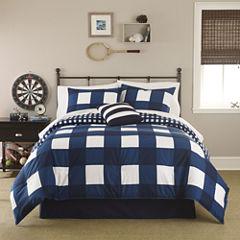 IZOD® Buffalo Plaid Comforter Set