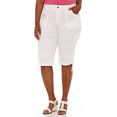 Gloria Vanderbilt® Lana Knit Cargo Pants - Plus