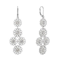 Monet Bridal Couture The Bridal Collection Chandelier Earrings