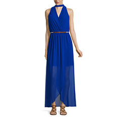 by&by Sleeveless Maxi Dress-Juniors