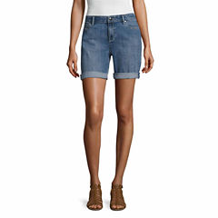 Liz Claiborne Denim Shorts-Talls