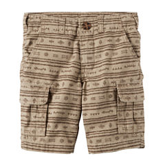 Carter's Straight Fit Woven Cargo Shorts - Toddler Boys