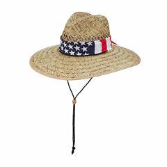 Panama Jack Americana Lifeguard Hat