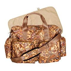 Trend Lab® Paisley Deluxe Duffle Diaper Bag