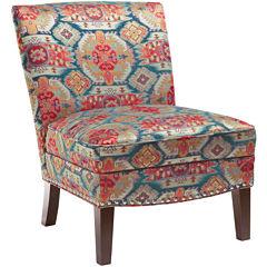 Madison Park Selena Curved-Back Slipper Chair