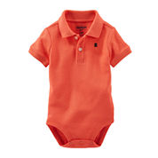 OshKosh B'gosh® Short-Sleeve Cotton Bodysuit - Baby Boys newborn-24m