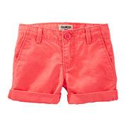 OshKosh B'gosh® Rolled Cuff Shorts – Toddler Girls 2t-5t