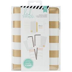 Heidi Swapp™ Monthly Gold Foil Stripes Memory Planner Kit