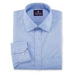 Stafford® Executive Non-Iron Cotton Pinpoint Oxford Dress Shirt
