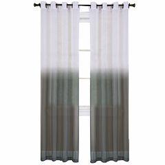 Essence Sheer Grommet-Top Curtain Panel