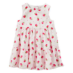 Oshkosh Sleeveless Babydoll Dress - Baby Girls