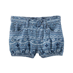 Oshkosh Pull-On Shorts Baby Girls