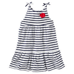 Oshkosh Sleeveless Babydoll Dress - Toddler Girls