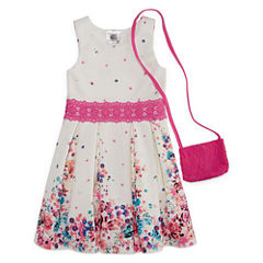 Knit Works Sleeveless Skater Dress - Preschool Girls
