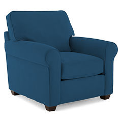 Fabric Possibilities Roll Arm Chair