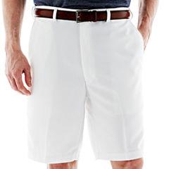 Haggar® Cool 18® Flat-Front Shorts