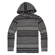 Vans® Striped Long-Sleeve Pullover Hoodie - Boys 8-20
