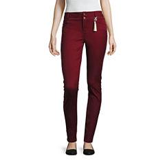 Sapphire Ink Skinny Fit Slim Pants-Juniors