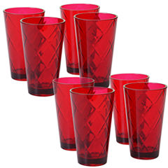 Certified International Acrylic Ice Tea Tumbler Glass