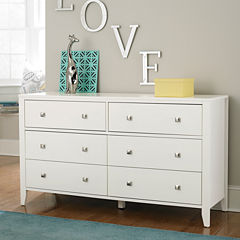 Possibilities 6 Drawer Dresser