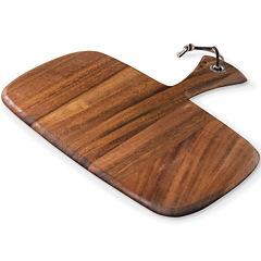 Ironwood Gourmet Rectangular Small Rectangular Paddle Serving and Cutting Board