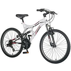 Polaris Ranger 21-Speed Full Suspension Girls' Mountain Bike