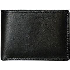 Buxton® Emblem Double I.D. Leather Wallet