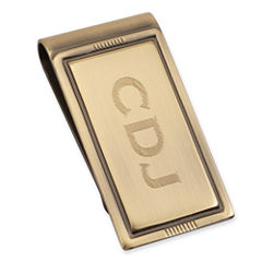 Personalized Brushed Die-Struck Money Clip